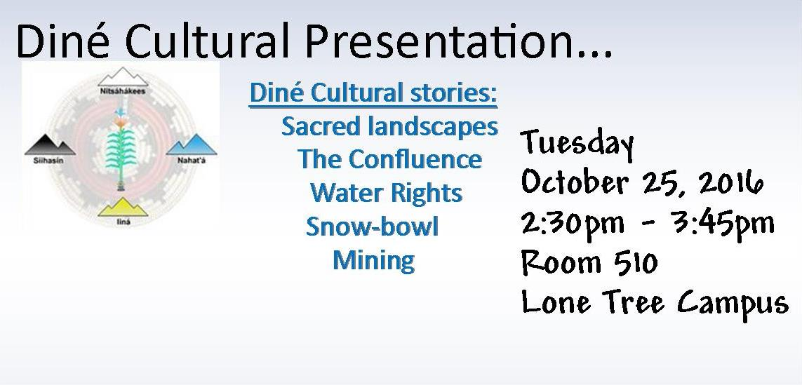 Dine' Cultural Stories