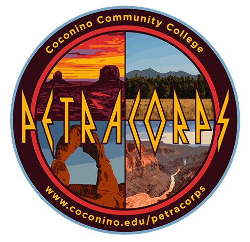 PetraCorps Logo at Coconino Community College