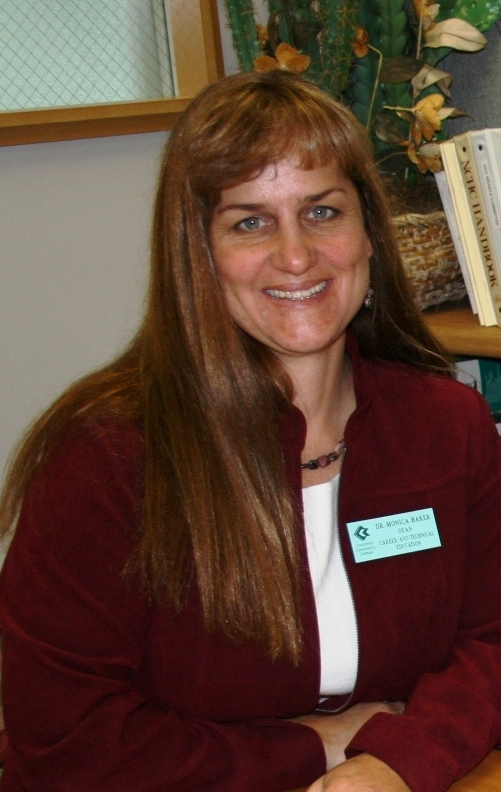 Photo of Monica Baker, Ed.D, Dean of Career and Technical Education
