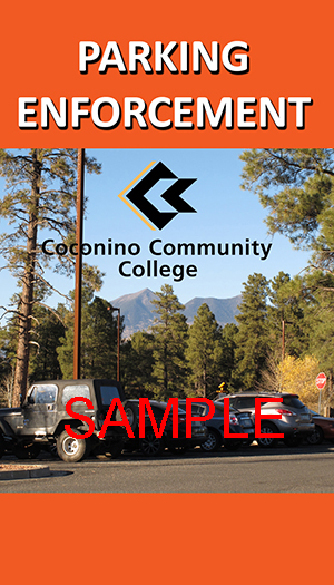 CCC Parking Enforcement ID Card